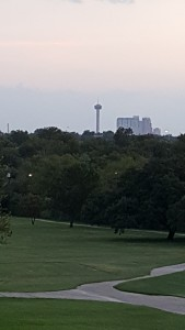 View of Tower of Americas, from San Antonio Country Club